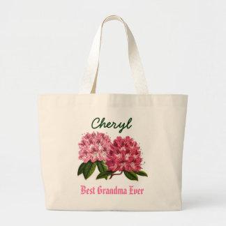 El mejor rododendro conocido siempre de encargo de bolsa tela grande