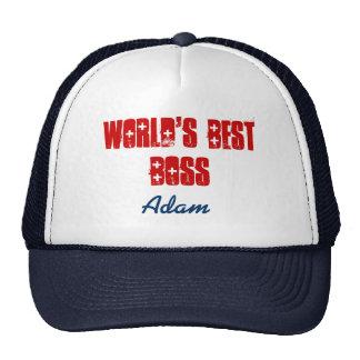 El mejor rojo de azules marinos conocido de gorras