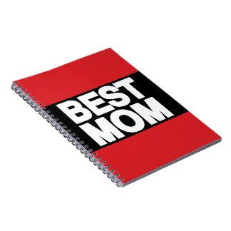 El mejor rojo de LG de la mamá Libro De Apuntes