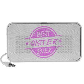 El mejor rosa de la hermana nunca iPod altavoz
