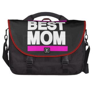 El mejor rosa de la mamá bolsa para ordenador