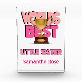 El mejor rosa de la pequeña hermana de los mundos