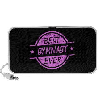 El mejor rosa del gimnasta nunca iPhone altavoces