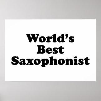 El mejor saxofonista del mundo póster