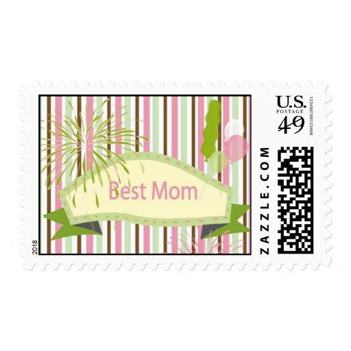 El mejor sello del día de madre de la mamá