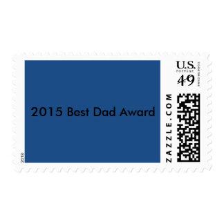 El mejor sello del premio del papá