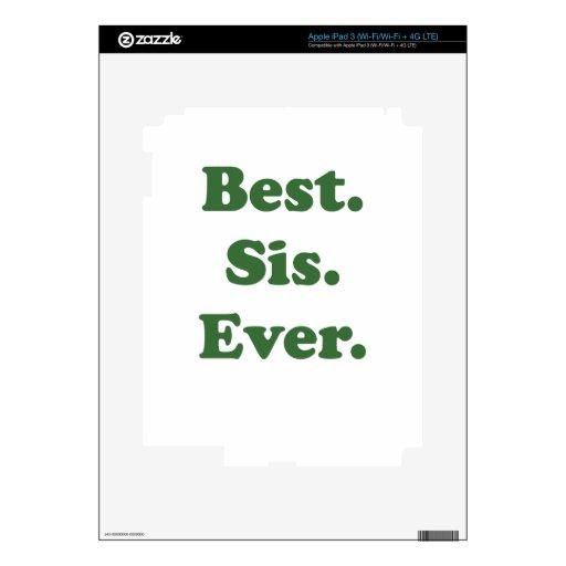 El mejor SIS nunca Pegatinas Skins Para iPad 3
