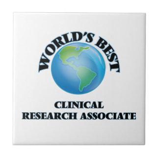 El mejor socio de la investigación clínico del azulejos