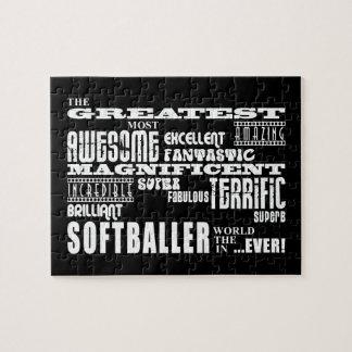 El mejor Softballers: El Softballer más grande Puzzle Con Fotos
