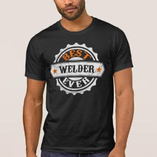 El mejor soldador del vintage camiseta