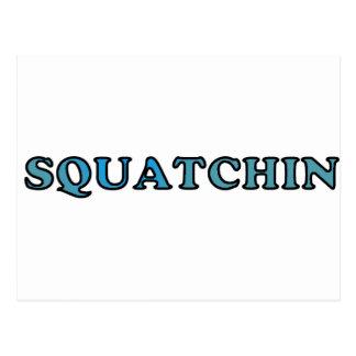 El mejor Squatchin ido divertido nunca Tarjetas Postales