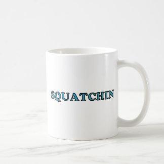 El mejor Squatchin ido divertido nunca Taza Clásica
