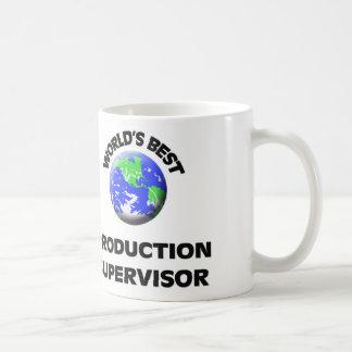 El mejor supervisor de la producción del mundo taza de café