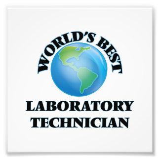 El mejor técnico del laboratorio del mundo fotografías
