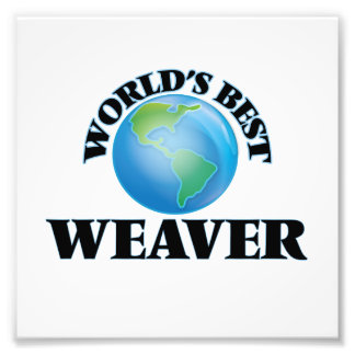 El mejor tejedor del mundo cojinete