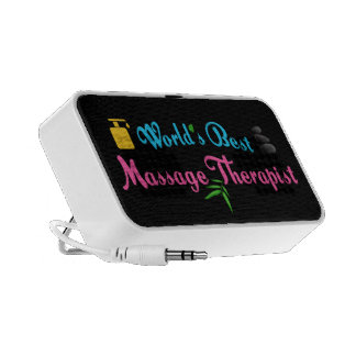 El mejor terapeuta del masaje del mundo mp3 altavoz
