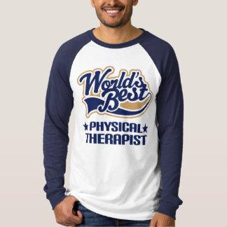 El mejor terapeuta físico de los mundos remeras