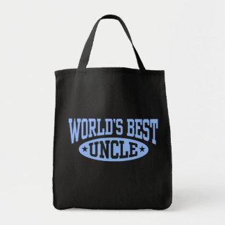 El mejor tío del mundo bolsas