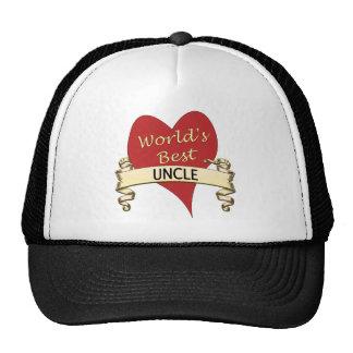 El mejor tío del mundo gorras de camionero
