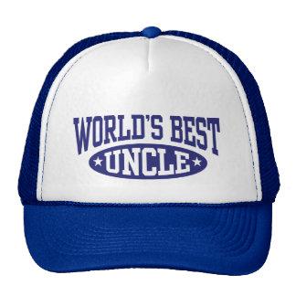 El mejor tío del mundo gorro de camionero