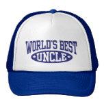 El mejor tío del mundo gorros bordados