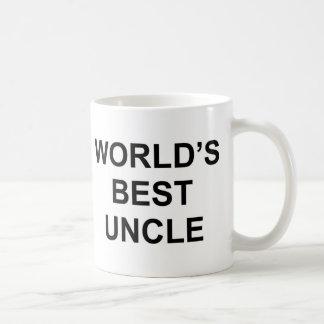 El mejor tío del mundo taza clásica