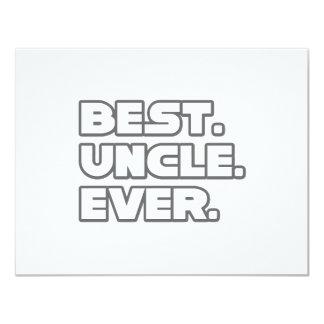 El mejor tío Ever Comunicados