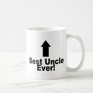 El mejor tío Ever Taza Básica Blanca