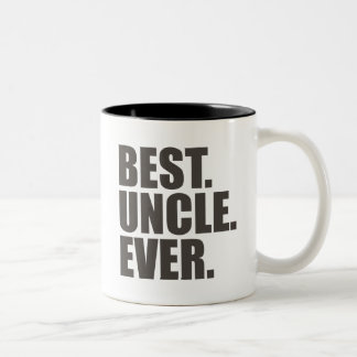 El mejor. Tío. Nunca Taza Dos Tonos