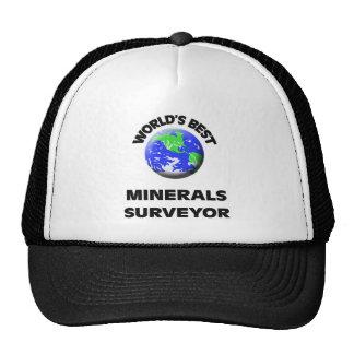 El mejor topógrafo de los minerales del mundo gorra