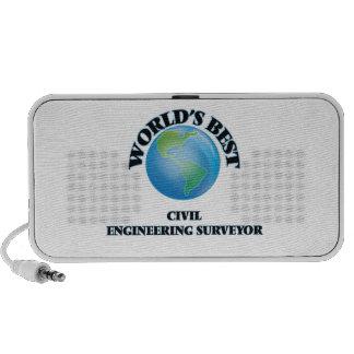 El mejor topógrafo del genio civil del mundo iPod altavoces