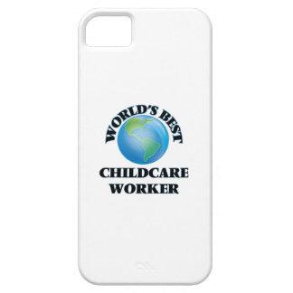 El mejor trabajador del cuidado de niños del mundo iPhone 5 Case-Mate fundas