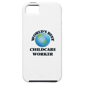 El mejor trabajador del cuidado de niños del mundo iPhone 5 carcasa