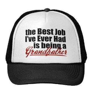 El mejor trabajo está siendo un abuelo gorros