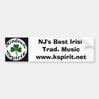 El mejor tradicional irlandés de NJ. Pegatina de l Pegatina Para Auto