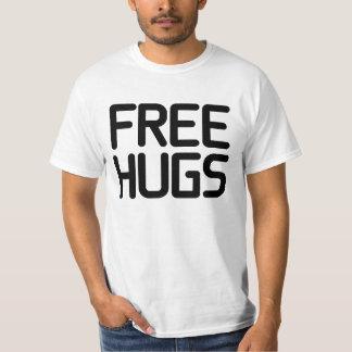 ¡El mejor trato! Libere la camiseta de los abrazos Playera