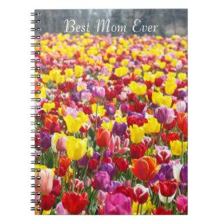 El mejor tulipán de los cuadernos de la mamá flore
