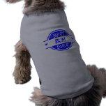 El mejor vago siempre azul camisetas de mascota