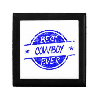 El mejor vaquero siempre azul cajas de recuerdo