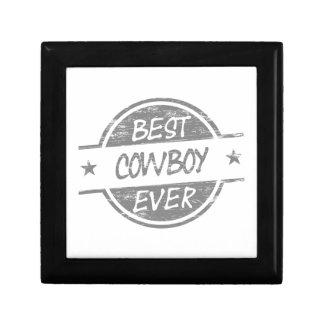 El mejor vaquero siempre gris caja de regalo