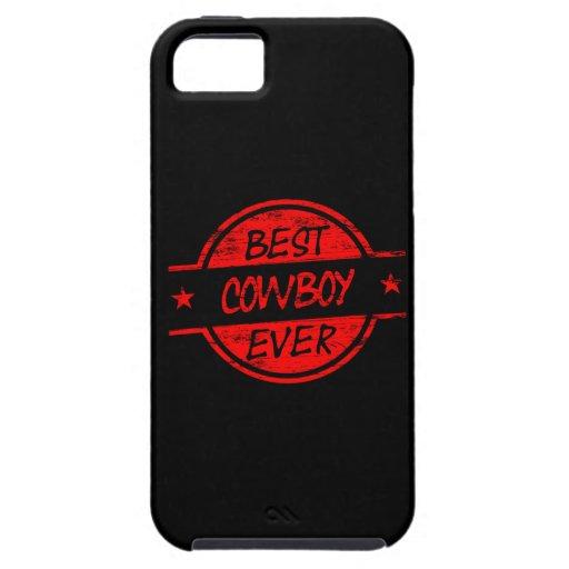 El mejor vaquero siempre rojo iPhone 5 funda