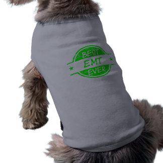 El mejor verde de EMT nunca Camiseta De Mascota