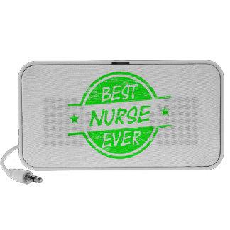El mejor verde de la enfermera nunca altavoz de viaje