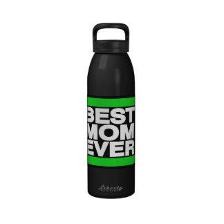 El mejor verde de la mamá nunca botellas de agua reutilizables