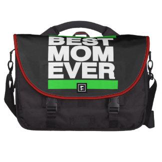 El mejor verde de la mamá nunca bolsas para ordenador
