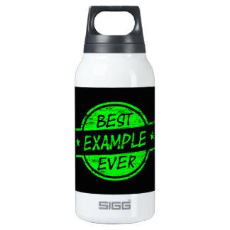 El mejor verde del ejemplo nunca botella isotérmica de agua