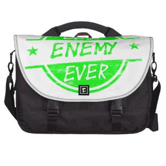 El mejor verde del enemigo nunca bolsas de portatil
