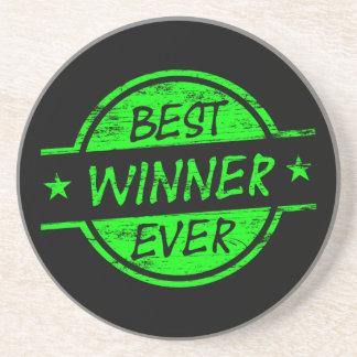 El mejor verde del ganador nunca posavasos manualidades