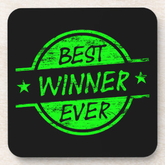 El mejor verde del ganador nunca posavasos