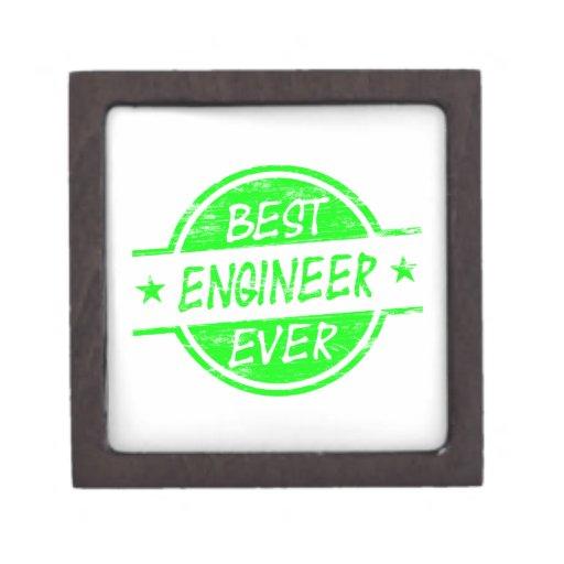 El mejor verde del ingeniero nunca cajas de joyas de calidad